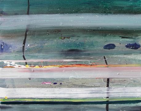 relacion de volumen y aplicacion, óleo de Juan Astica sobre tela, año 2007