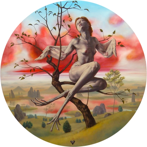 """Fruto"", óleo sobre tela de Gbriel Grün (2009)"