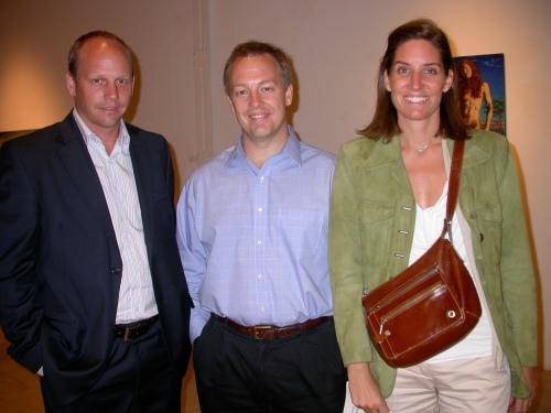 Tommy, Federico y Rocío Reinke
