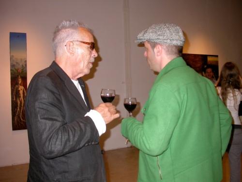 Roberto Plate y amigo