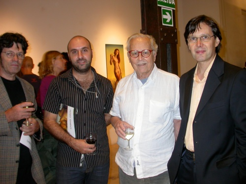 Eduardo Iglesias Brickles, Diego Perrotta, Osvaldo Giesso y Carlos Bissolino