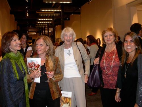 Sylvia Spinoza Melo, Susana de Oromí Escalada, Maureen O´Ryan, Silvia Durlach y Carolina Banfi