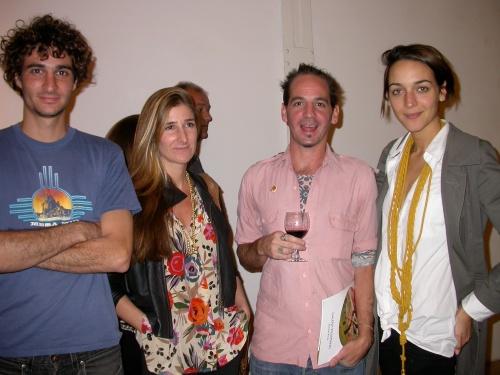 Teo y Amparo Díscoli, Julián Prebisch y Francisca Mancini