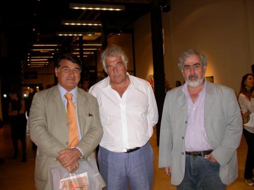 Georgie Vartparonian, CMC y Juan Astica