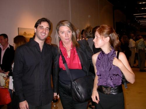Gabriel Grün, Alicia de Arteaga y Lorena Guzmán