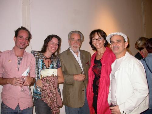 Julián Prebisch, Rosa Benedit, Luis F. Benedit, María Herrero y Julio Sánchez