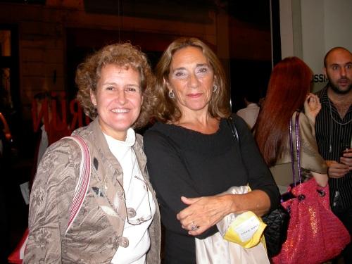 Teresa Pereda y Cristina Piceda