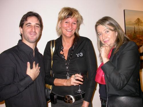 Gabriel Grün, Lucrecia Agulla y Alicia de Arteaga