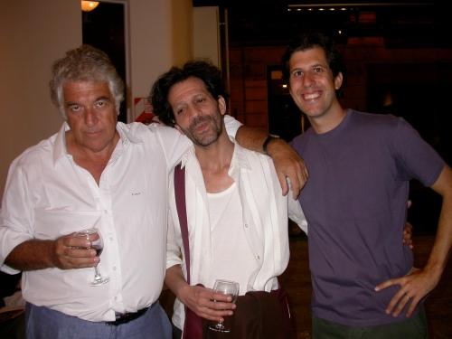 CMC, César Paz y Rodrigo Podestá