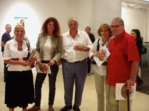 Elenita Chozas, Katja Alemann, CMC, Cecilia Fitz-Simon y Patricio Bonta
