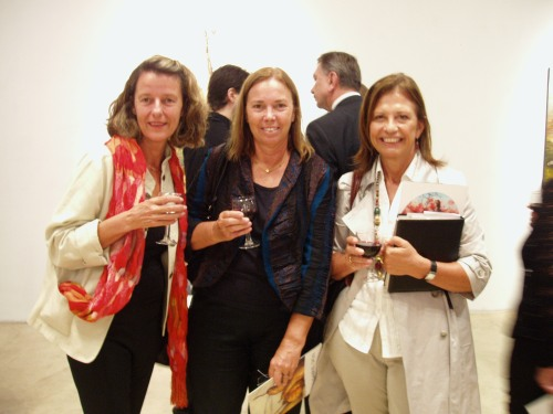 Titi Colombí, Corina Bellatti y Mónica Aguerrondo