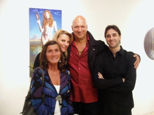 Karina Musheli, Carlos K y Gabriel Grün