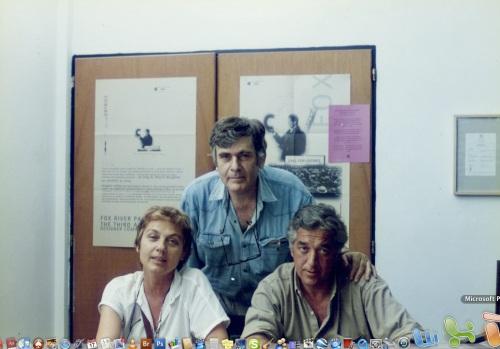 Loty Inchauspe, Pedro Roth y César Menegazzo Cané