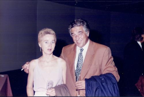 Ana Eckell y César Menegazzo Cané